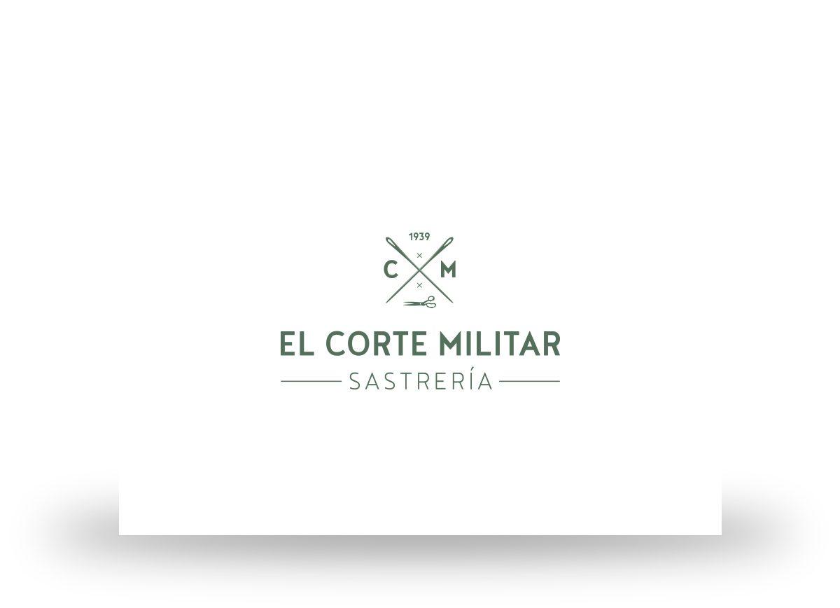 Logotipo de El Corte Militar creado por Com2gether